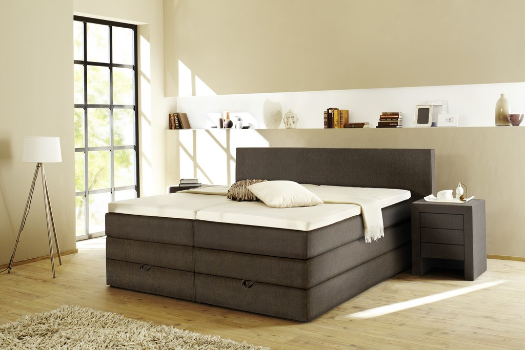 boxspringbett step 5 london. Black Bedroom Furniture Sets. Home Design Ideas