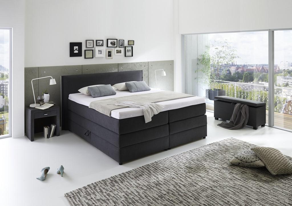 boxspringbett step 5 prag. Black Bedroom Furniture Sets. Home Design Ideas